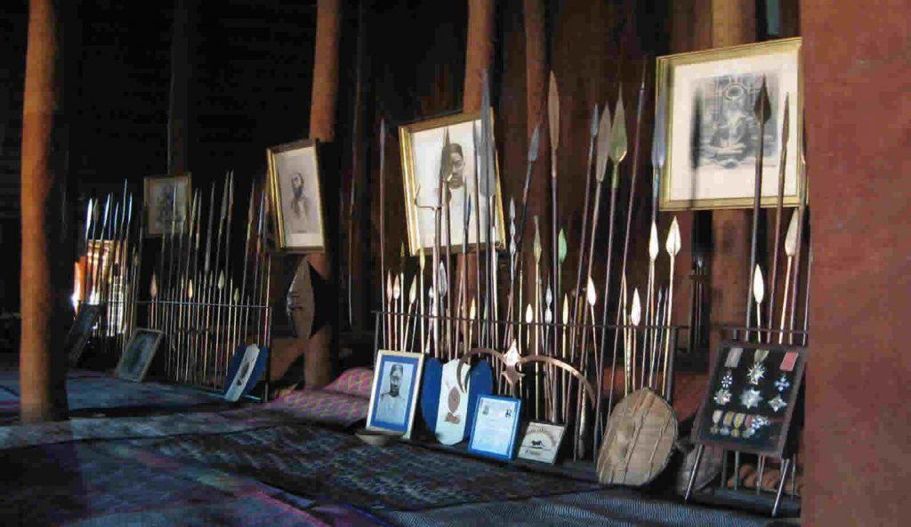 Inside Kasubi Tombs
