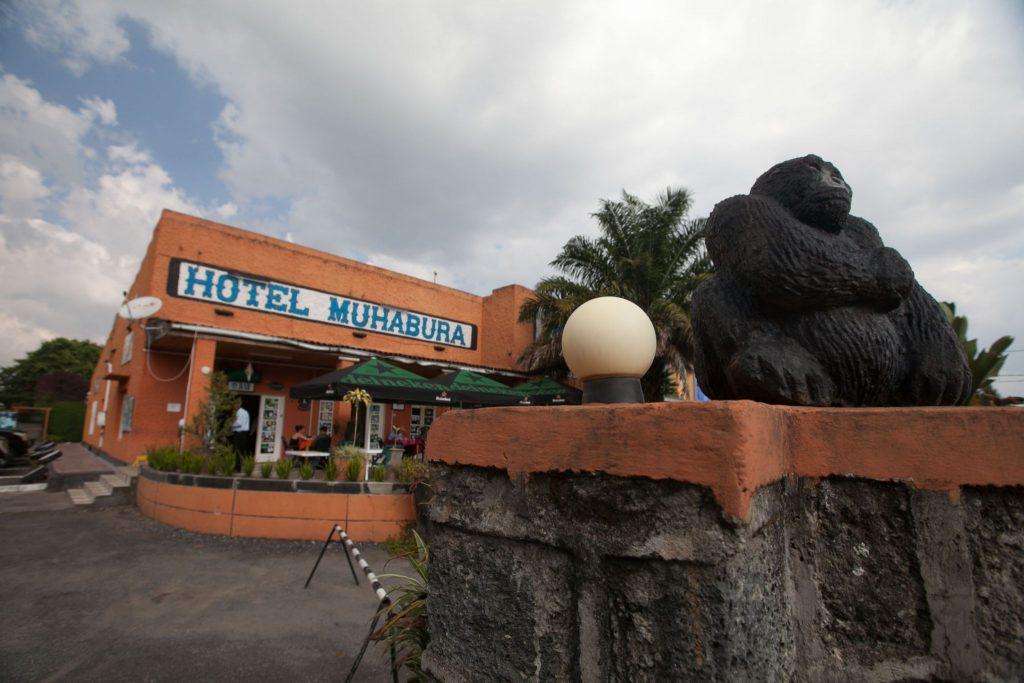 The famous Hotel Muhabura Rwanda